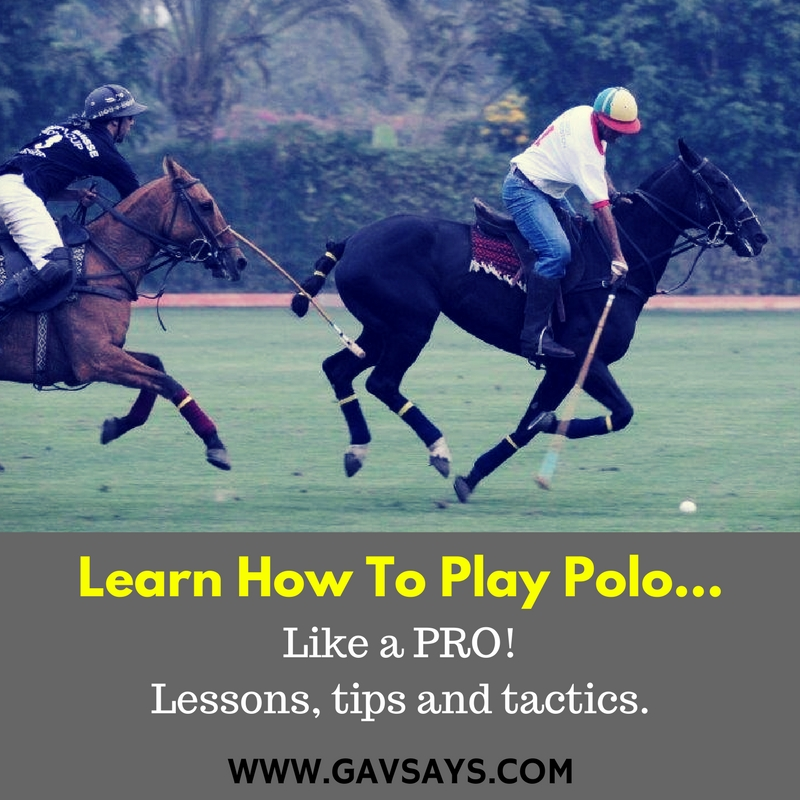 Learn to Play Polo - Lessons, Tips & Tactics
