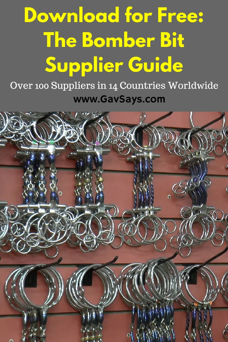 Bomber Bit Supplier Guide - Download it for Free