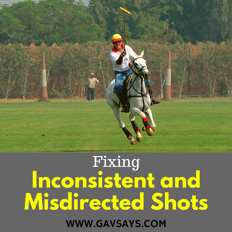 Learn how to Play Polo: Fixing Inconsistent & Misdirected Shots