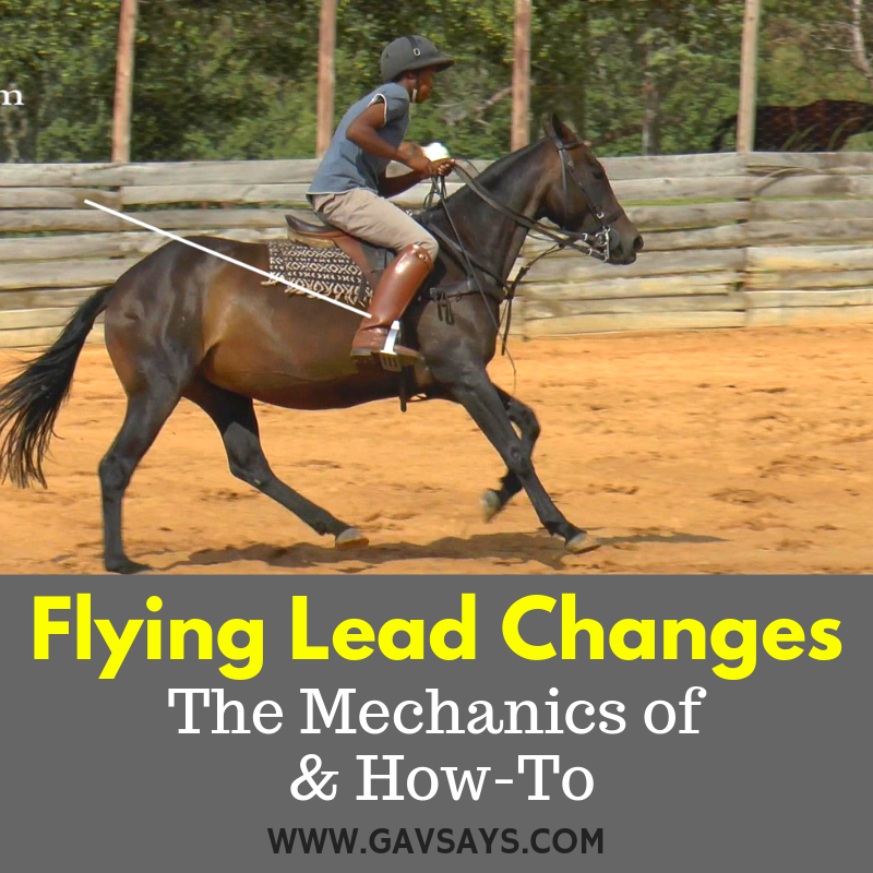 Flying Lead Changes - Learn the Mechanics of & How-To